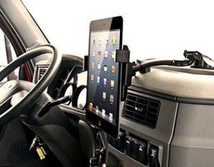trucking dash mount cell phone tablet holder