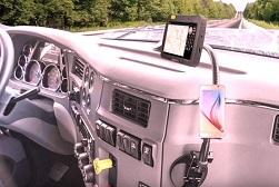 Pavlich CDL driver dashboard accesstories
