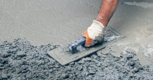 making conrete cement sand and gravel