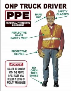 cdl driver ppe requirements