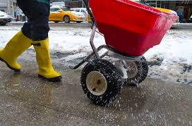 salt for icy sidewalks kansas city